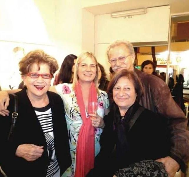 Rosa María Ravera, Zulema Maza, Diana Dowek y Juan Carlos Distefano